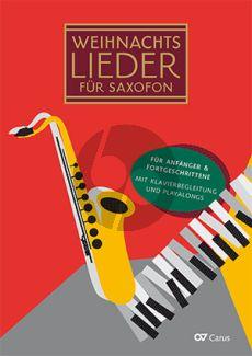 Weihnachtslieder für Saxopon 1 - 3 Saxofone und Klavier