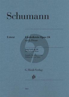 Schumann Liederkreis Op.24 Low (edited by Kazuko Ozawa) (Henle-Urtext)