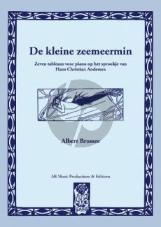 Brussee De kleine Zeemeermin Piano solo