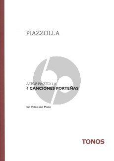 Piazzolla 4 Cancionas Portenas (Recitor)