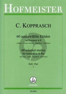 Kopprasch 60 Etuden vol.1 Trompete