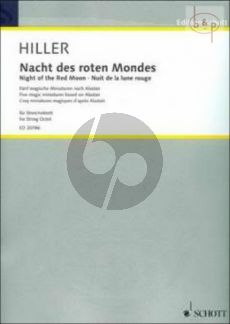 Nacht des roten Mondes (5 Magic Miniatures after Alistair) (2 Vi.1 - 2 - 2 Va.- 2 Vc.)