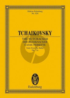 Tchaikovsky The Nutcracker (Suite from the Ballet) Op.71A Study Score