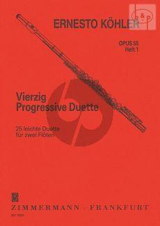 40 Progressive Duette Op.55 Vol.1