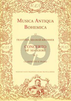 Krommer Concerto E-flat major Op.36 Clarinet and Piano (Simon-Kratochvil)