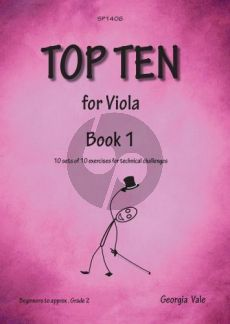 Vale Top Ten Book 1 (Viola Studies)