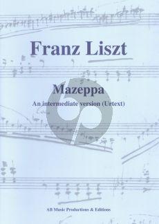 Liszt Mazeppa Piano solo (An intermediate version) (edited by Albert Brussee)