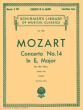 Mozart Concerto No.14 E-flat Major KV 449 (edition for 2 Pianos Edited by I Philipp)
