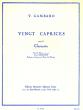 Gambaro 20 Caprices pour Clarinette (Ulysse Delécluse)