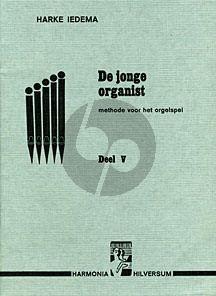 Iedema De Jonge Organist Vol.5 (Methode voor het orgelspel manualiter)