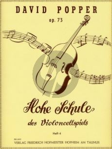 Popper Hohe Schule des Violoncellspiels Op.73 Vol.4