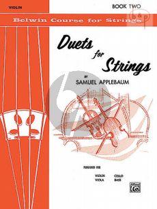 Duets for Strings Vol.2 (2 Violins)