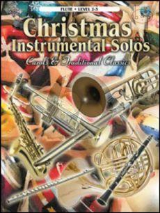 Christmas Instrumental Solos (Carols & Traditional Classics) (Flute)