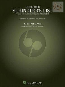 Schindler's List (Theme) 2 Vi. [Vi./Va.] with Piano