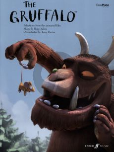 Aubry The Gruffalo Film Animation for Easy Piano