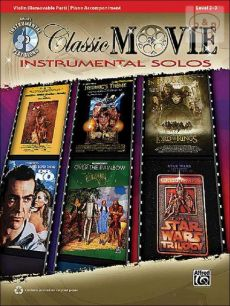Classic Movie Instrumental Solos (Violin-PIano) (Bk-Cd)
