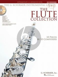 The Flute Collection (10 Pieces by 10 Composers) (Intermediate to Advanced Level)