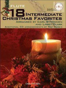 18 Intermediate Christmas Favorites (Flute)