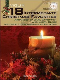 18 Intermediate Christmas Favorites (Violin)