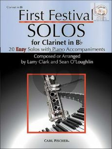 First Festival Solos for Clarinet (20 Easy Solos)