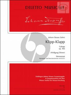 Klipp-Klapp (Galopp) Op.466 (Orch.)