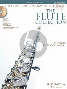 The Flute Collection (14 Pieces by 12 Composers) (Intermediate Level)