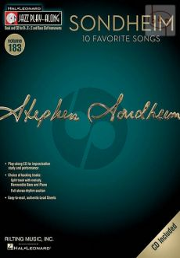 Sondheim 10 Favorite Songs (Jazz Play-Along Series Vol.183 )