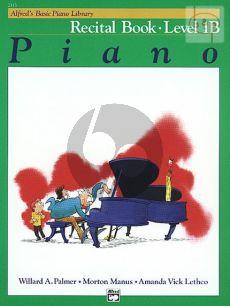 Recital Book Level 1B for Piano