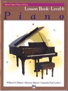 Alfred Basic Piano Lesson Book Level 6