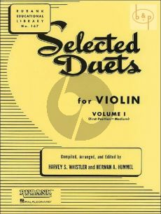 Selected Duets for Violin Vol.1