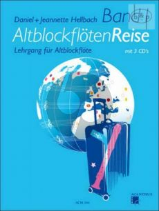 Altblockfloten-Reise Vol.1 Lehrgang Buch mit 3 CD's