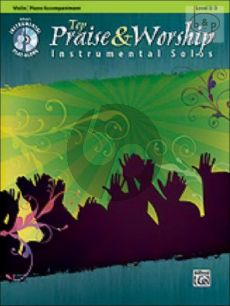 Top Praise and Worship Instrumental Solos (Violin with Piano Accompaniment)