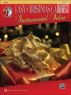 Easy Christmas Carols Instrumental Solos (Flute)