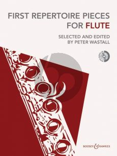 First Repertoire Pieces for Flute Flute-Piano (Bk-Cd) (Wastall)