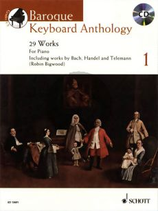 Baroque Keyboard Anthology (24 Works) (Piano or Harpsichord)