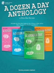 Burnam A Dozen A Day Anthology Piano (Book with Audio online)