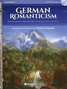 German Romanticism Flute-Piano (Bk-Cd) (transcr, Franco Cesarini)