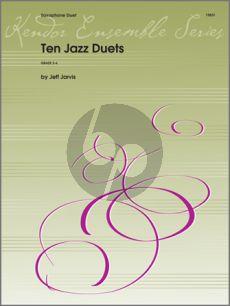 Jarvis 10 Jazz Duets 2 Alto Saxophones