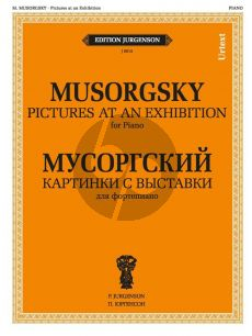 Mousorgsky Pictures at an Exhibition (Urtext)