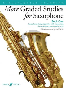 More Graded Studies Book 1 for Saxophone (edited and selected by Paul Harris)