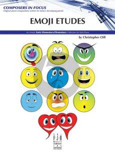 Oill Emoji Etudes for Piano Solo