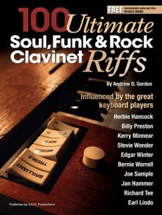 Gordon 100 Ultimate Soul, Funk and Rock Clavinet Riffs (book with MP3 files)