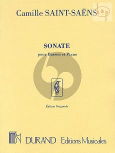 Sonate Op.168 Bassoon - Piano