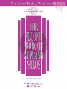 Second Book of Soprano Solos Vol.1 (Voice-Piano)