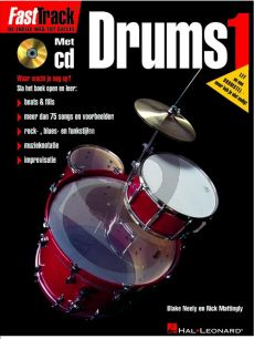 Neely-Marringly Fast Track Drums Vol.1 (Bk-Cd) (Ned.)