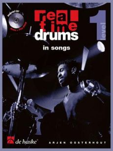 Oosterhout Real Time Drums in Songs Level 1 (Bk-Cd)