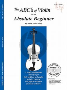 The ABC's of Violin for the Absolute Beginner Vol.1