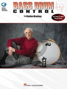 Bailey Bass Drum Control (Book with Audio online)