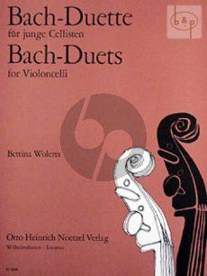 Bach Duette fur junge Cellisten (Bettina Wolerts)