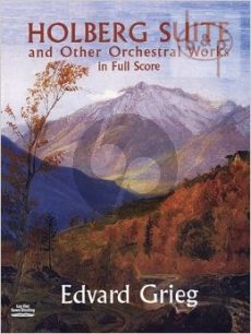 Holberg Suite and other Orchestral Works